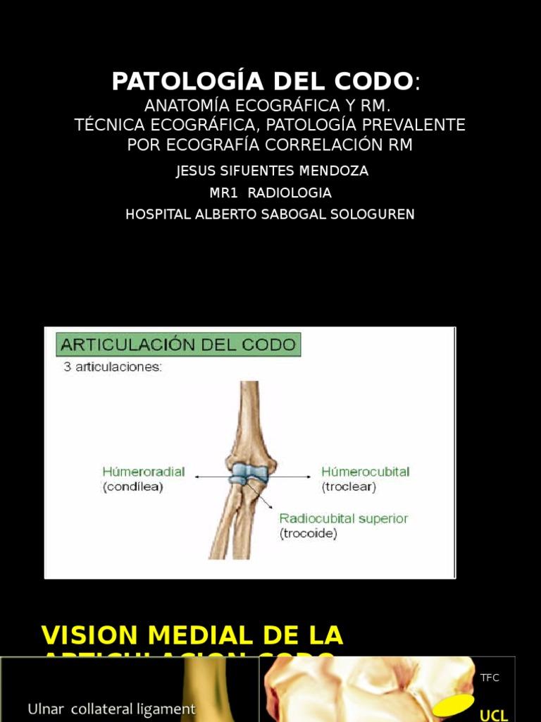 Patologia de Codo