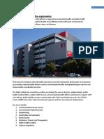 introduction to the organisation eportfolio