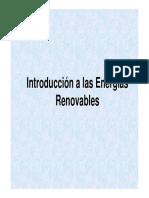 Introducción a Las Energías Renovables