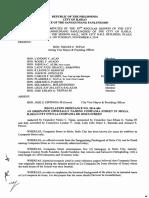 Iloilo City Regulation Ordinance 2014-484