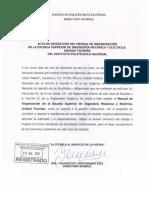 Manual Organizacional ESIME TIC 2011
