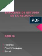 Enfoques de Estudio de La Religion