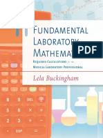 Fundamental Laboratory Mathematics, Required Calculations for the Medical Laboratory Professional, 1st Ed., (2014)