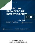 PPT DISEÃ'O PROYECTO DE INVESTIGACION.ppt