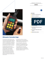 Olympus 26MG Ultrasonic Corrosion Gage brochure