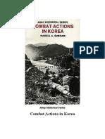 Korean War Small Unit Actions