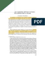 MacKinnon - Feminismo, Marxismo, Método y Estado (Lecturas)