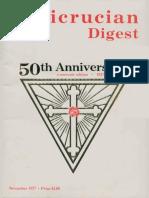 Rosicrucian Digest, November 1977 50th Anniversary