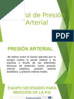 Conrol de Presiòn Arterial