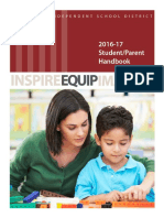 Fort Bend ISD 2016-17 Student-parent-handbook Updated 090716