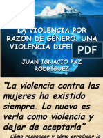 Ponencia La Violencia Por Razo