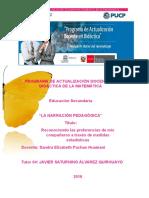 Narracion Pedagogica - Sandra Pachao