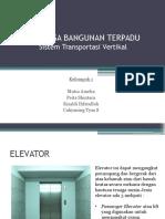 Sistem Transportasi Vertikal