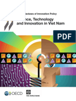 Science - Technology and Innovation in Vietnam Reviewed by WB 2014