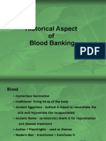 blood banking history
