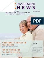 RE Investment News -Oct 2016