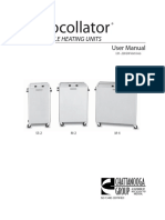 Hidrocollator m4 User Manual