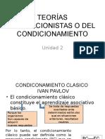 Teorías Asociacionistas o Del Condicionamiento