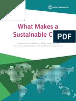 WorldBankWhatMakesaSustainableCity.pdf