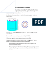 Capacidad de Un Condensador Cilíndrico