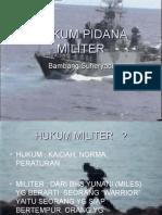 Hukum Pidana Militer