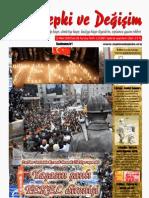 Tepki ve Değişim Dergisi 28. sayı