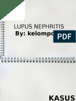 Lupus nefritis
