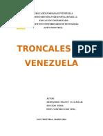 Troncales de Venzuela
