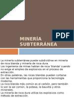 Minería Subt. Clase