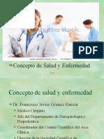 1.-Concepto de Salud y Enfermedad