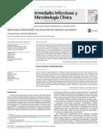 Infecciones Relacionadas Con El Uso de Cateteres Vasculares