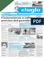 Edición Impresa Elsiglo 29-09-2016