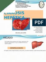 Cirrosis Hepatica Diapositivas