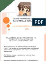 Transtorno de Ansiedade Infância e Adolescência - Dra. Verônica