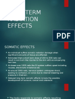 Low Dose Effect