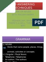 Pt3 Answering Techniques (2)