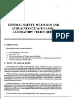 chemistry safety measure