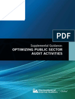TheIIA Global 2012 _ Supplemental Guidance - Optimizing Public Sector Audit Activities