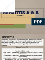 Hepatitis a & B Power Point
