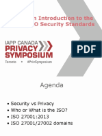 IAPP Canada _ an Introduction to the ISO Security Standards