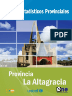 Perfil Estadístico Provincial La Altagracia