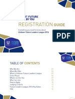 FLL 2016 - Registration Guide - Final Design