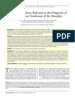 Impingement Syndrom of the shoulder