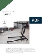 Proyecto de Pluma Hidraulica