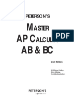 Peterson's Master AP Calculus