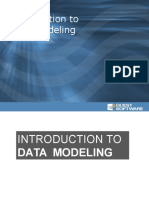 Intro Data Modeling