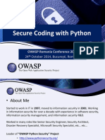 Python Secure Coding