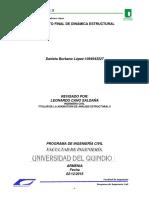 Informe Proyecto Final Dinamica Estructural