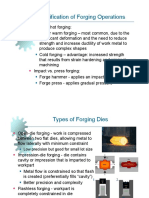 Forging Processes MEE 3024 2014