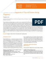 Update on the Management of Thyroid Disease During